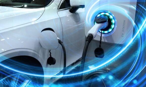 auto elettrica rifornimento